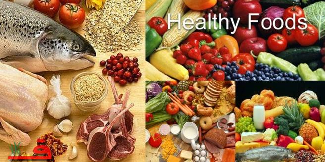 مقارنة بين الغذاء الصحي والغير صحي