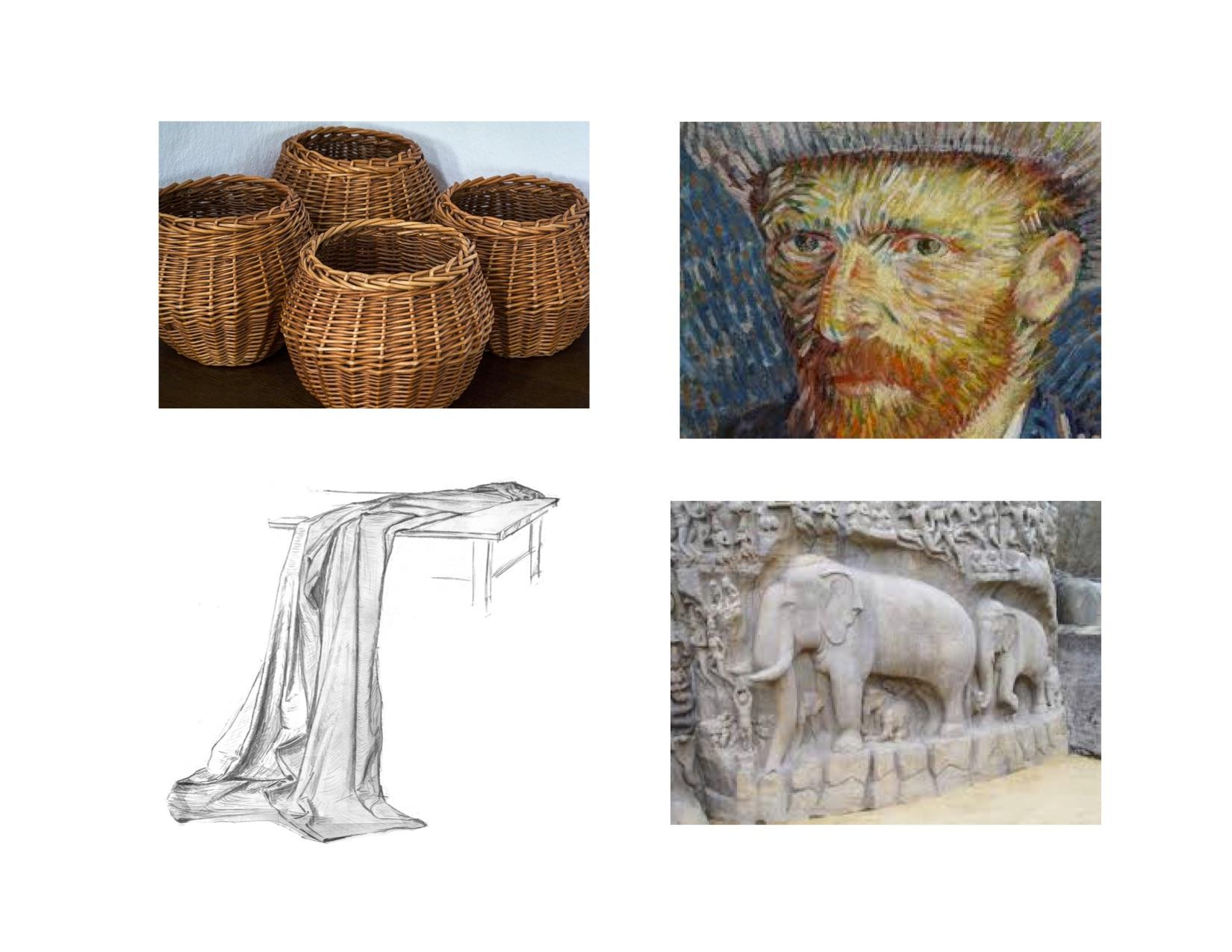 1st Grade Art Texture Learn | H5P