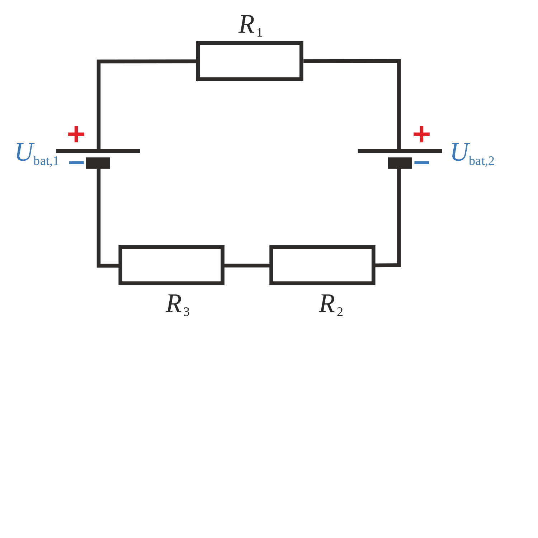Komplexere Schaltkreise   LEIFI Physik