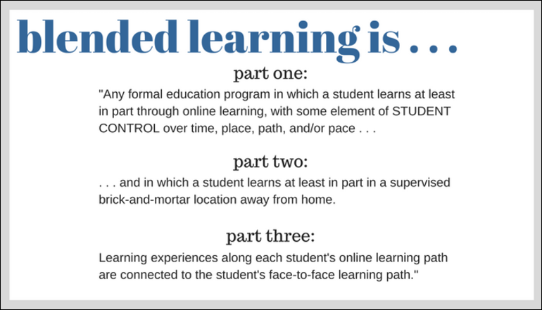 A recipe for blended learning lessons tes teach.