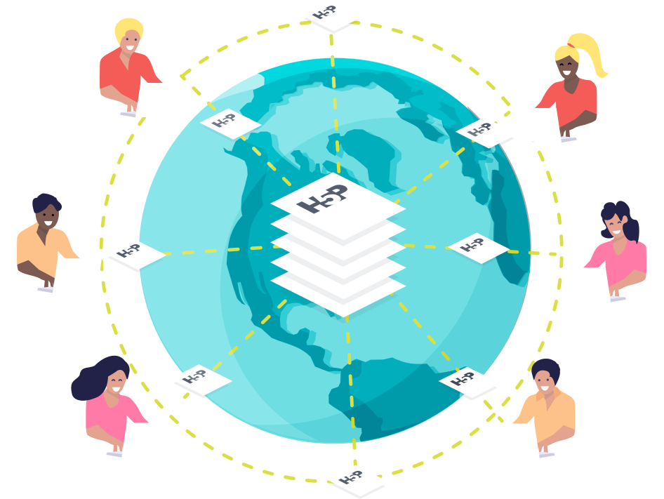 H5P hub illustration