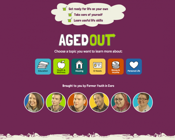 Aged Out Home Page